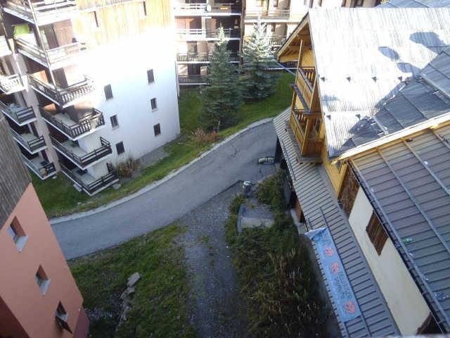Location au ski Studio 2 personnes (333) - Residence Soldanelles - Risoul - Extérieur été