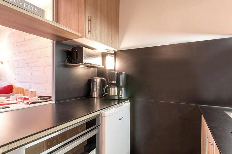 Holiday in mountain resort 2 room apartment 4 people (204) - Résidence Soldanelles A - Les Menuires - Kitchenette