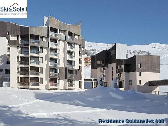Holiday in mountain resort Résidence Soldanelles A - Les Menuires