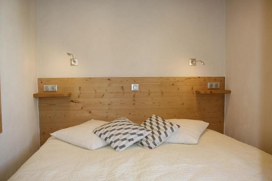 Vacances en montagne Appartement 2 pièces cabine 4 personnes (104) - Résidence Soldanelles - Les Menuires - Lit double