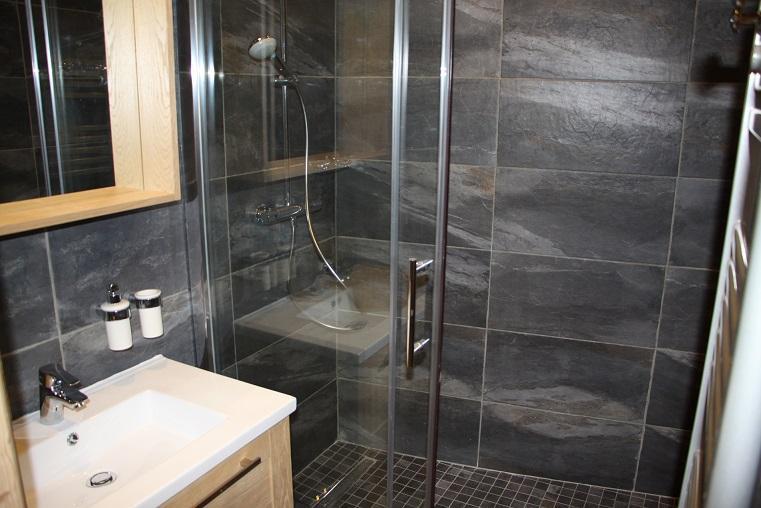 Vacances en montagne Appartement 2 pièces cabine 4 personnes (104) - Résidence Soldanelles - Les Menuires - Salle de bains