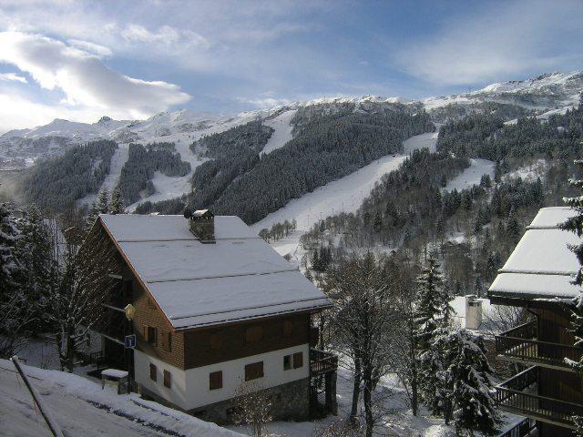 Location au ski Studio 4 personnes (5) - Residence Squaw Valley - Méribel - Extérieur été