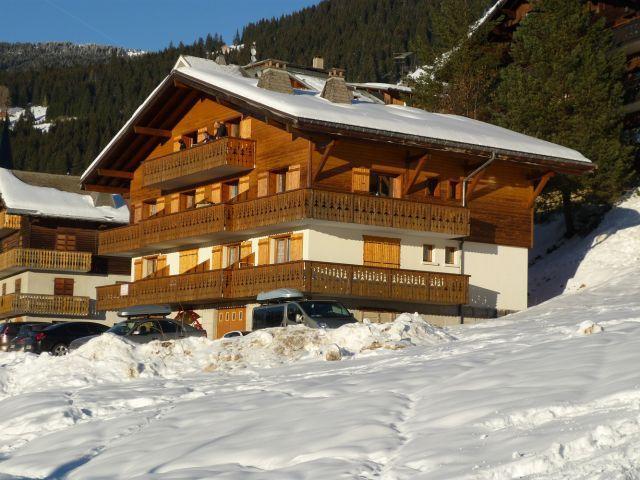 Vacaciones en montaña Apartamento 3 piezas para 6 personas (SQU001) - Résidence Squaw Valley - Châtel