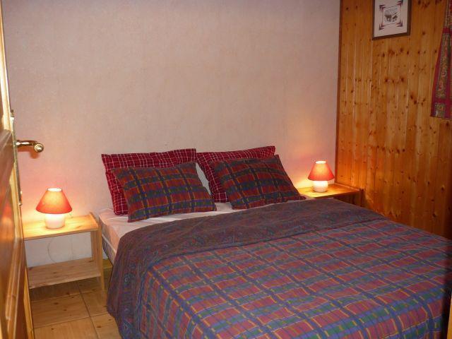 Vacaciones en montaña Apartamento 3 piezas para 6 personas (SQU001) - Résidence Squaw Valley - Châtel - Cama doble
