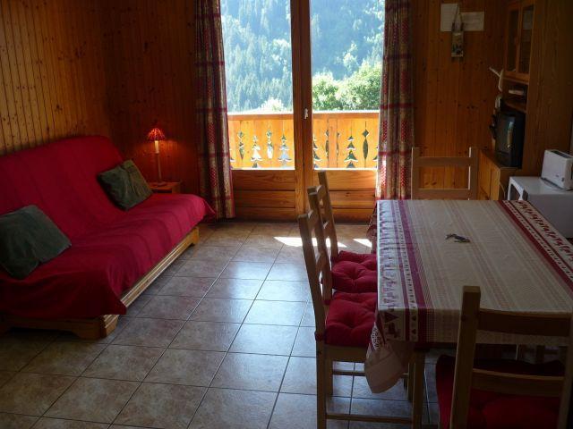 Vacaciones en montaña Apartamento 3 piezas para 6 personas (SQU001) - Résidence Squaw Valley - Châtel - Estancia