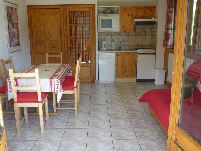 Vacaciones en montaña Apartamento 3 piezas para 6 personas (SQU001) - Résidence Squaw Valley - Châtel - Kitchenette