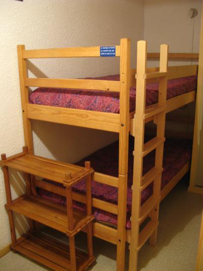 Каникулы в горах Квартира студия со спальней для 4 чел. (STS13) - Résidence St Sébastien 1 - Aussois - Двухъярусные кровати