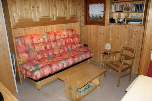 Каникулы в горах Квартира студия со спальней для 4 чел. (STS13) - Résidence St Sébastien 1 - Aussois - Салон