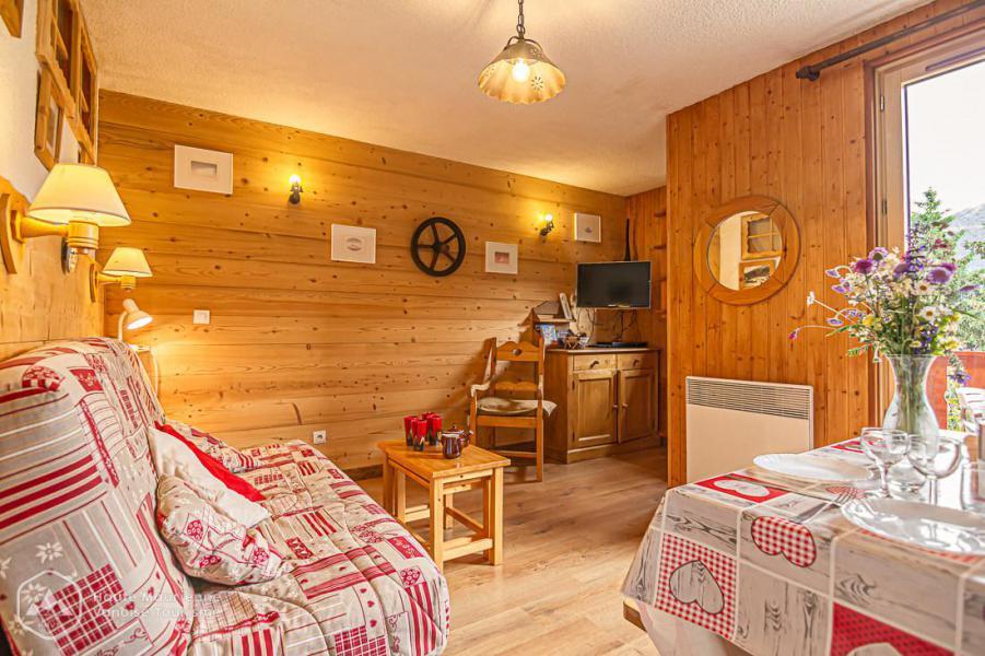 Каникулы в горах Квартира студия со спальней для 4 чел. (STS10) - Résidence St Sébastien 2 - Aussois