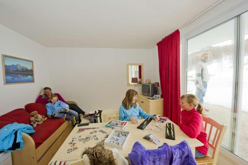 Vacanze in montagna Résidence Sun Vallée - Puy-Saint-Vincent - Angolo soggiorno