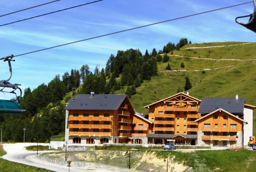 Vacances en montagne Résidence Sun Valley - La Plagne - Extérieur été