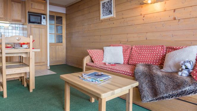 Vacances en montagne Appartement 2 pièces 2-4 personnes - Résidence Sun Valley - La Plagne