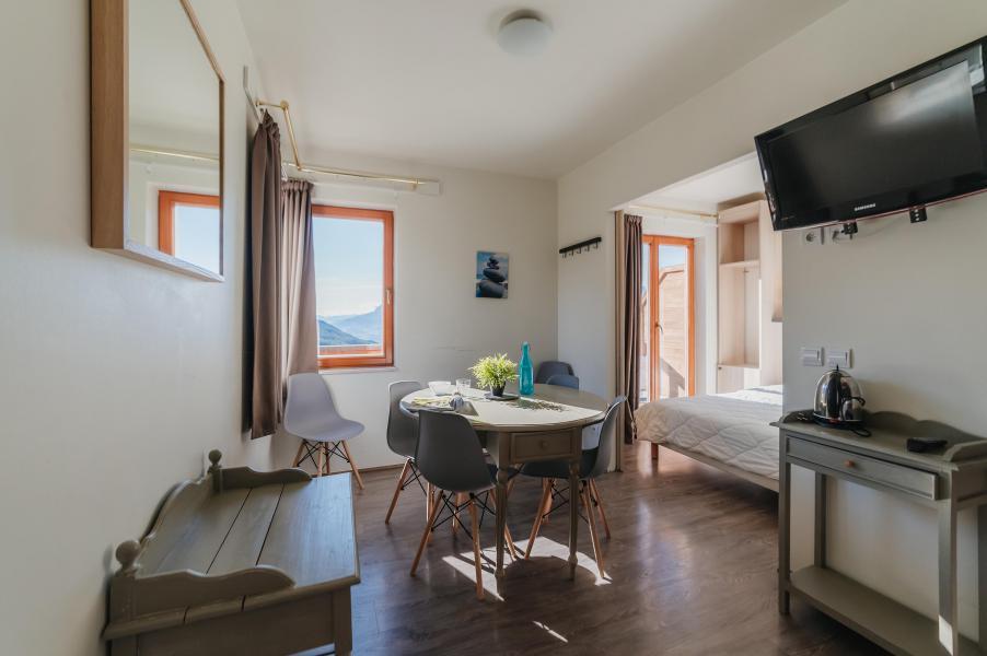 Vacances en montagne Studio 4 personnes - Résidence Sunêlia les Logis d'Orres - Les Orres - Séjour