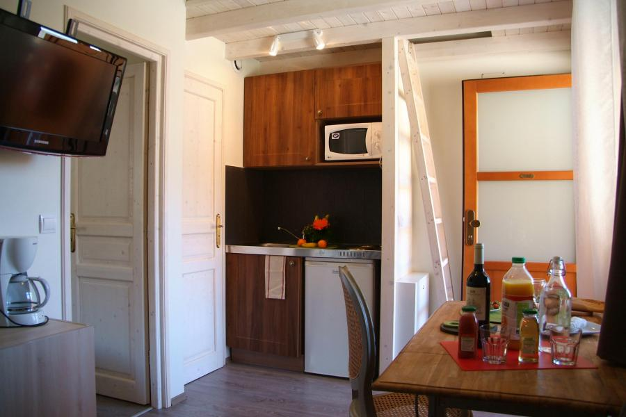 Urlaub in den Bergen Résidence Sunêlia les Logis d'Orres - Les Orres - Wohnzimmer