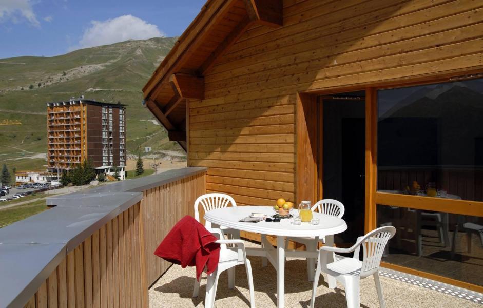Vakantie in de bergen Résidence Terrasses de la Bergerie - Orcières Merlette 1850 - Buiten zomer