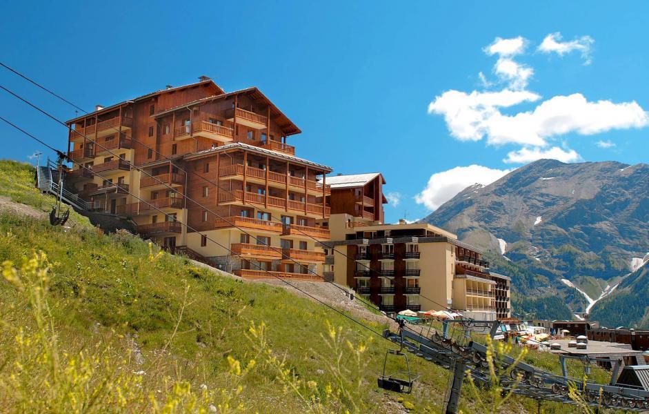 Location au ski Résidence Terrasses de la Bergerie - Orcières Merlette 1850 - Extérieur été