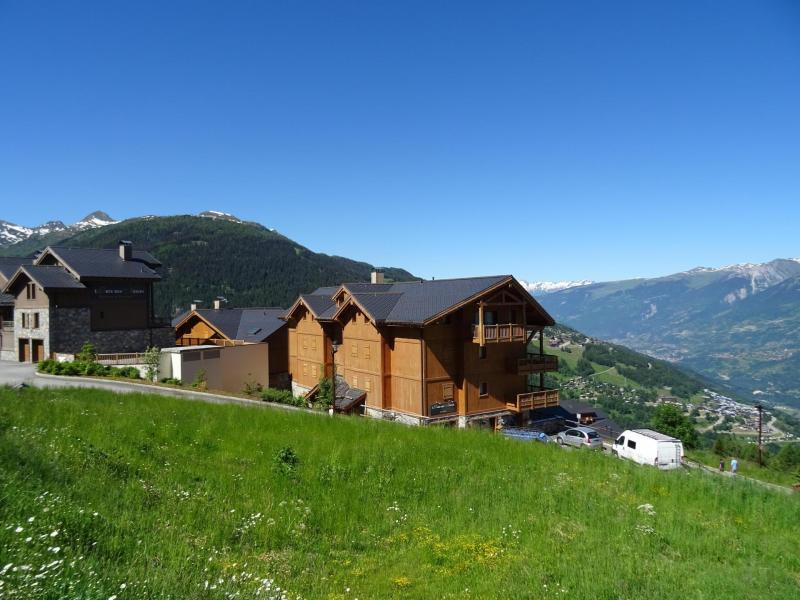 Holiday in mountain resort 4 room apartment 8 people (09R) - Résidence Tétras - Peisey-Vallandry - Summer outside