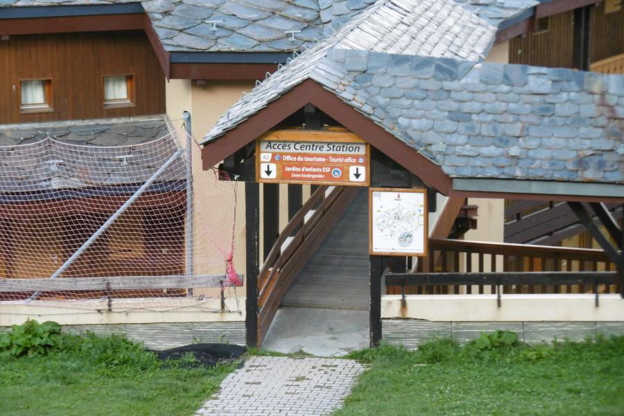Location au ski Studio 4 personnes (313) - Résidence Themis - La Plagne - Extérieur été