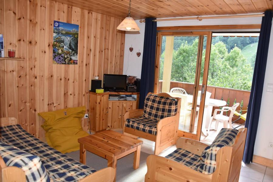 Vacaciones en montaña Apartamento 3 piezas para 4 personas (19) - Résidence Tour du Merle - Champagny-en-Vanoise - Estancia
