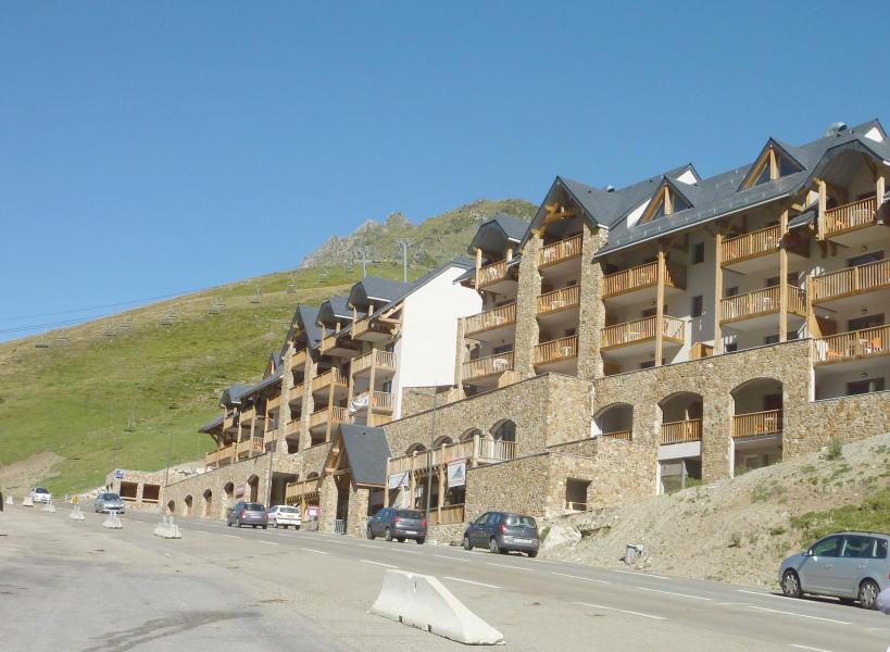 Wynajem na narty Résidence Tourmalet - Barèges/La Mongie - Na zewnątrz latem