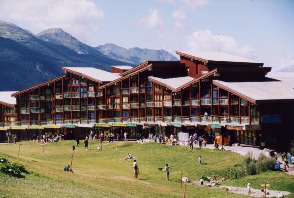 Vakantie in de bergen Résidence Tournavelles 1 - Les Arcs - Buiten zomer