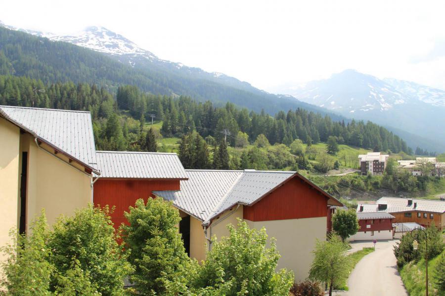 Location au ski Studio coin nuit 4 personnes (021) - Résidence Triade - Val Cenis - Extérieur été