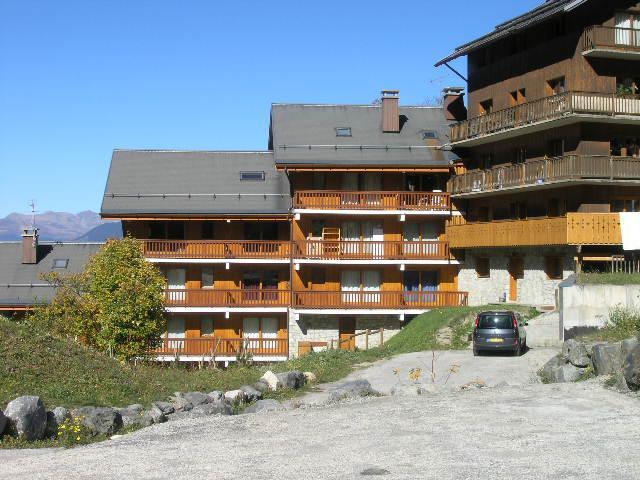 Location au ski Appartement 3 pièces 6 personnes (5) - Résidence Troillet - Méribel - Extérieur été
