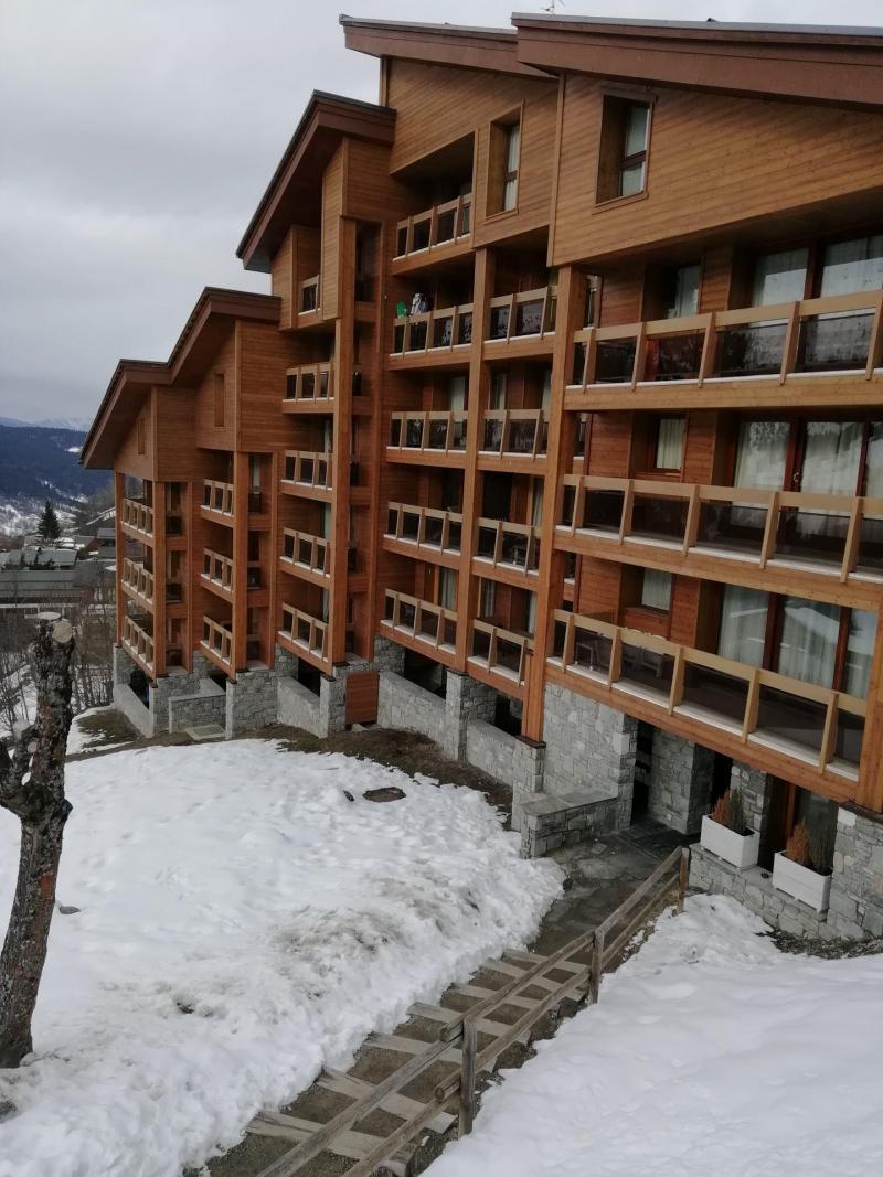 Vacances en montagne Résidence Trois Marches Bat C - Méribel