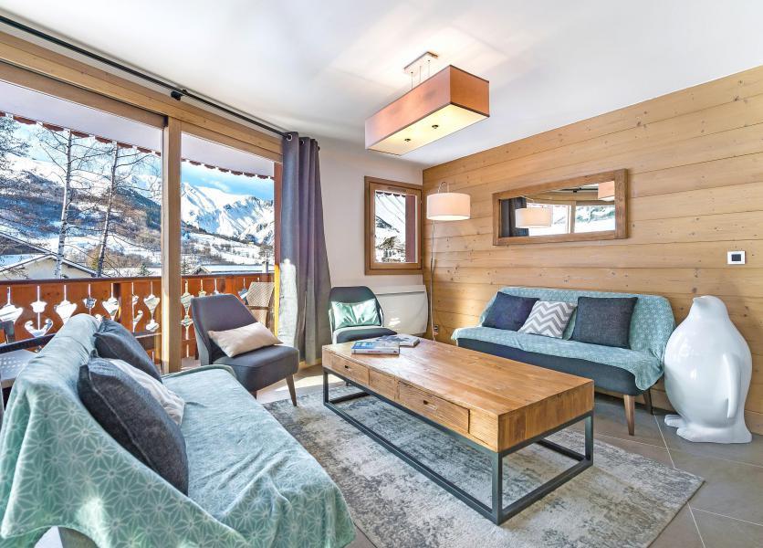 Wakacje w górach Apartament 5 pokojowy 8 osób (2) - Résidence Trolles Prestige - Saint Martin de Belleville - Pokój gościnny