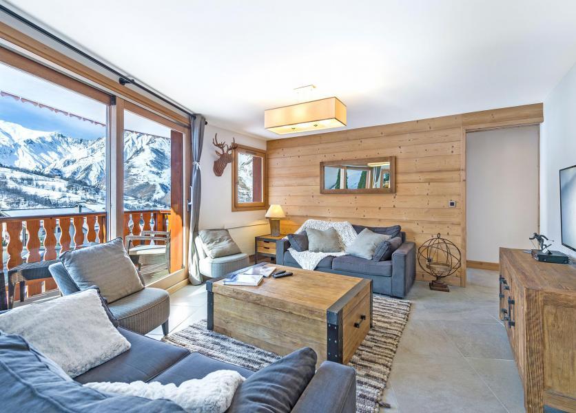 Wakacje w górach Apartament 5 pokojowy 8 osób (3) - Résidence Trolles Prestige - Saint Martin de Belleville - Pokój gościnny