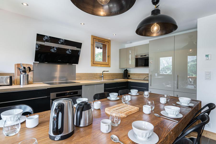 Wakacje w górach Apartament 5 pokojowy 8 osób (4) - Résidence Trolles Prestige - Saint Martin de Belleville - Kuchnia
