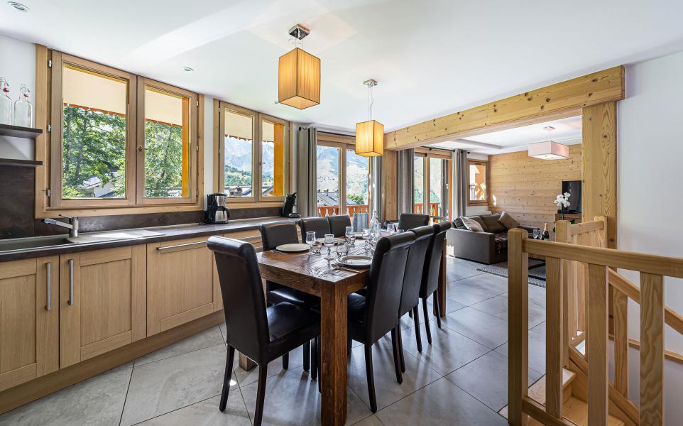 Wakacje w górach Apartament duplex 5 pokojowy 8 osób (1) - Résidence Trolles Prestige - Saint Martin de Belleville - Jadalnia
