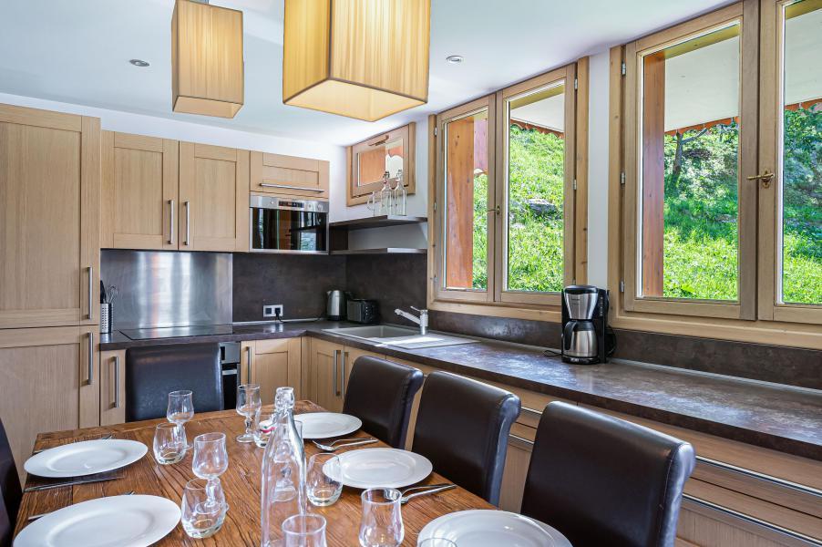 Wakacje w górach Apartament duplex 5 pokojowy 8 osób (1) - Résidence Trolles Prestige - Saint Martin de Belleville - Kuchnia