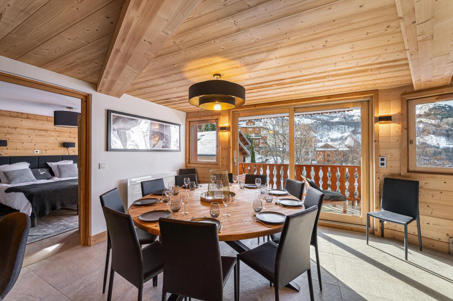 Wakacje w górach Apartament duplex 8 pokojowy 12 osób (5) - Résidence Trolles Prestige - Saint Martin de Belleville - Jadalnia