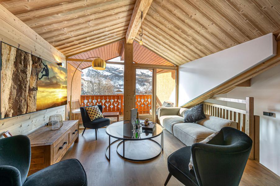 Wakacje w górach Apartament duplex 8 pokojowy 12 osób (5) - Résidence Trolles Prestige - Saint Martin de Belleville - Pokój gościnny