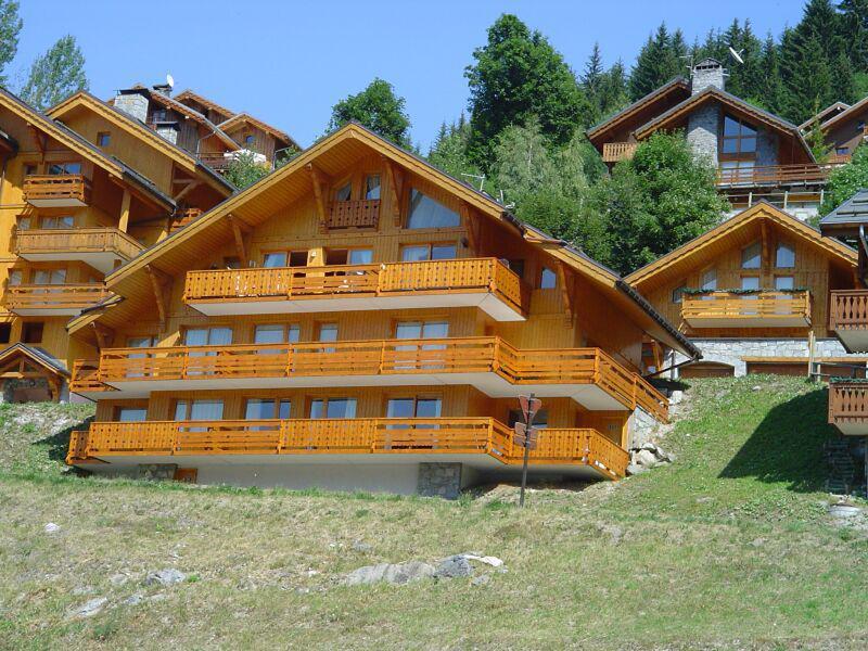 Vacances en montagne Résidence Tsanteleina - Méribel - Extérieur été