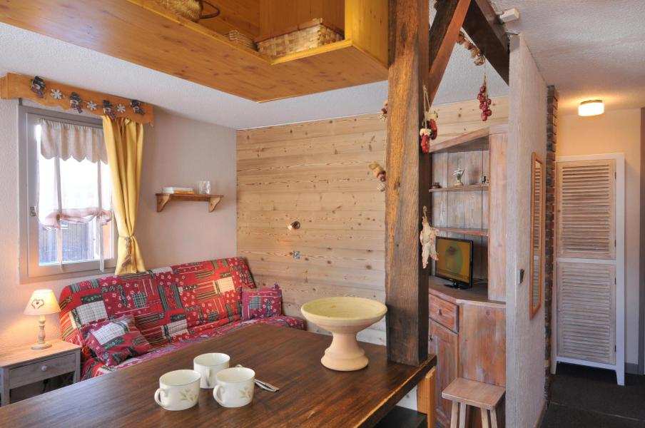Holiday in mountain resort 2 room apartment 5 people (02) - Résidence Turquoise - La Plagne - Table
