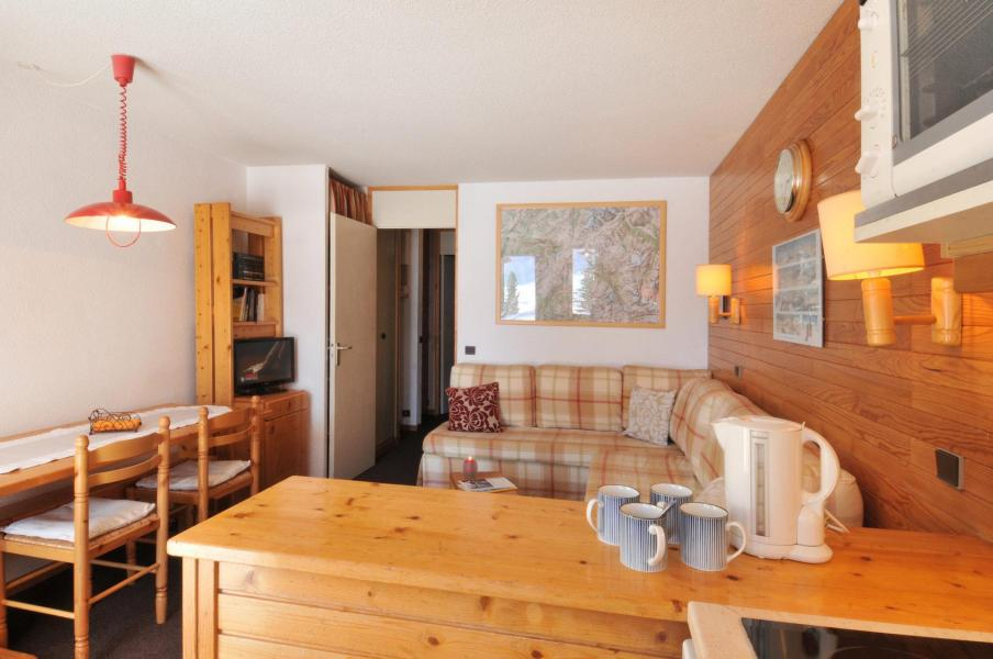 Holiday in mountain resort 2 room apartment 5 people (05) - Résidence Turquoise - La Plagne
