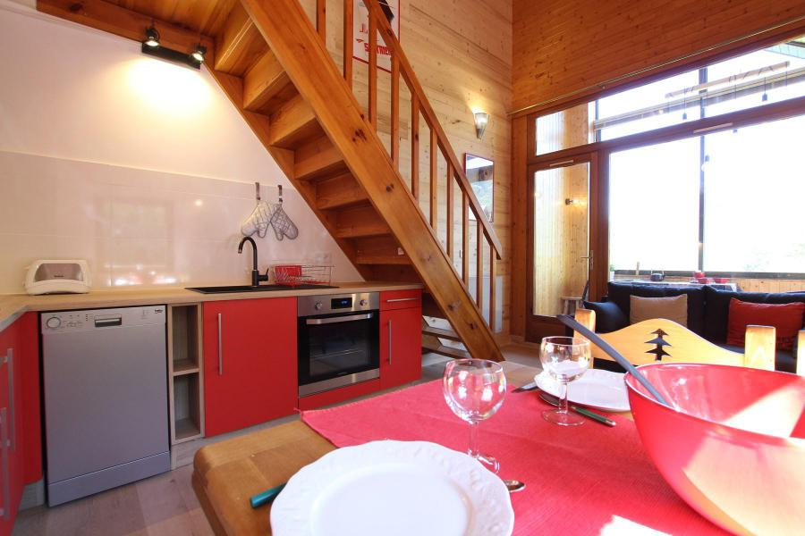Vacances en montagne Appartement 3 pièces mezzanine 6 personnes (VAL03C) - Résidence Valérianes - Pelvoux