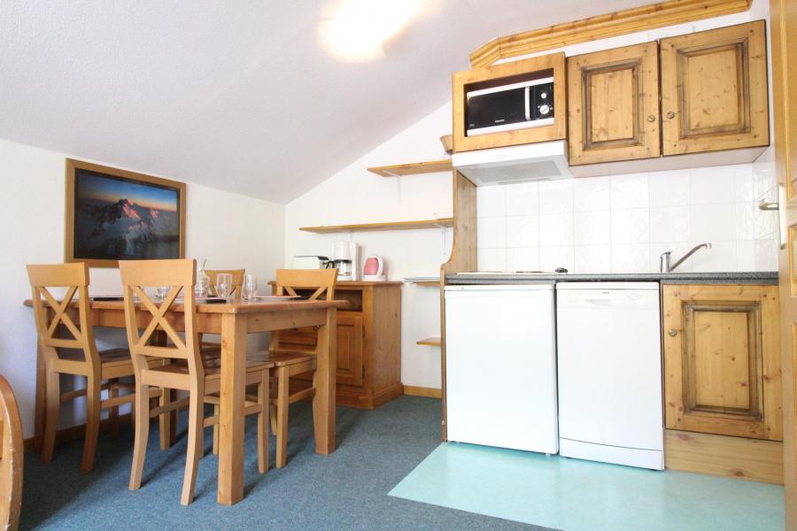 Vakantie in de bergen Appartement 2 kamers 4 personen (A21) - Résidence Valmonts - Val Cenis - Open keuken