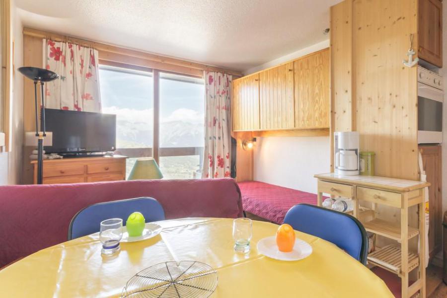 Vakantie in de bergen Studio 4 personen (0302) - Résidence Vanguard Soyouz - Le Corbier