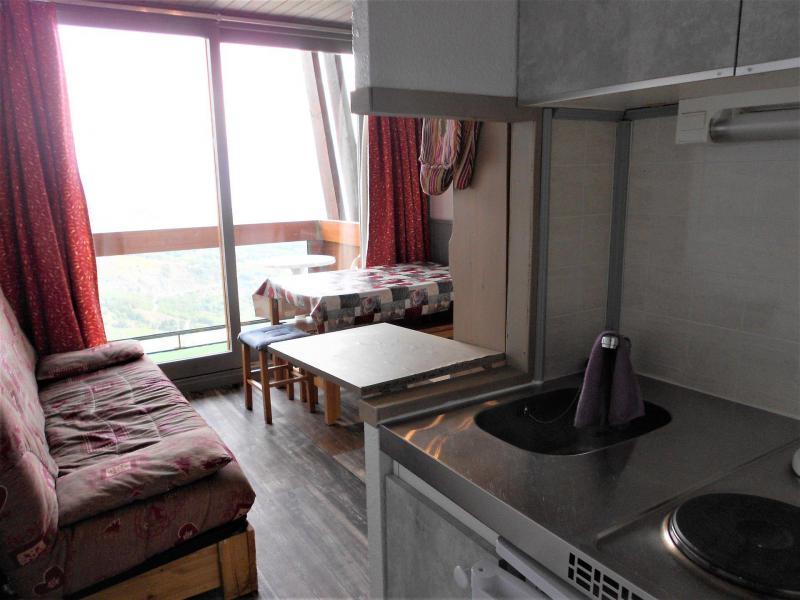 Vakantie in de bergen Appartement 2 kamers 5 personen (1904) - Résidence Vanguard Soyouz - Le Corbier - Keukenblok