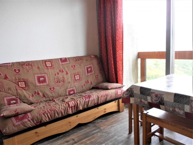 Vakantie in de bergen Appartement 2 kamers 5 personen (1904) - Résidence Vanguard Soyouz - Le Corbier - Woonkamer
