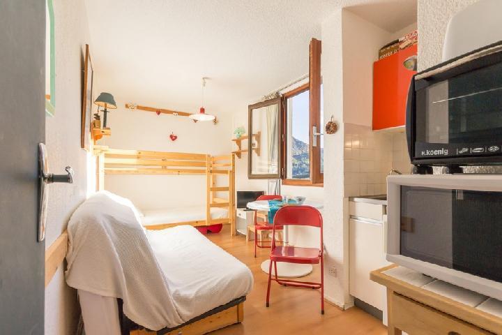 Holiday in mountain resort Studio 3 people (1012) - Résidence Vanguard Soyouz - Le Corbier - Accommodation