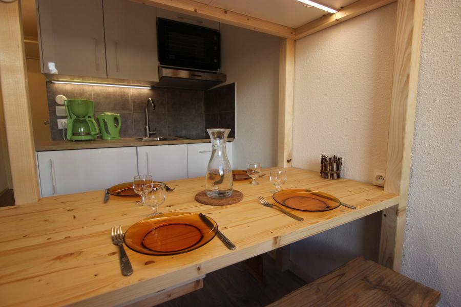 Vakantie in de bergen Appartement 2 kamers 4 personen (677) - Résidence Vanoise - Val Thorens - Stapelbedden
