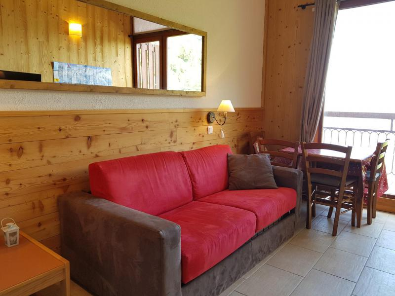 Vacances en montagne Studio coin montagne 5 personnes (1144) - Résidence Varet - Les Arcs - Banquette