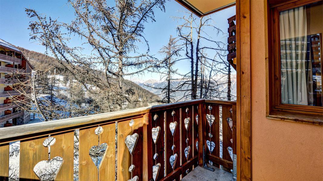 Wakacje w górach Résidence Véga - Risoul - Balkon