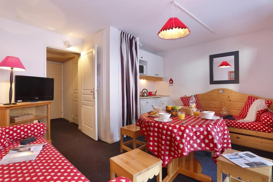 Vacances en montagne Résidence Véga - Risoul - Banquette-lit tiroir