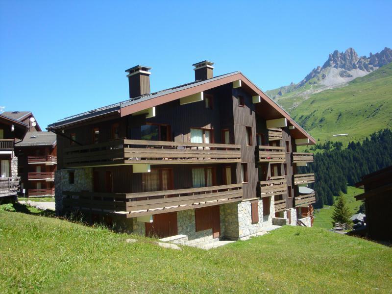 Location au ski Résidence Verdons - Méribel-Mottaret - Extérieur été