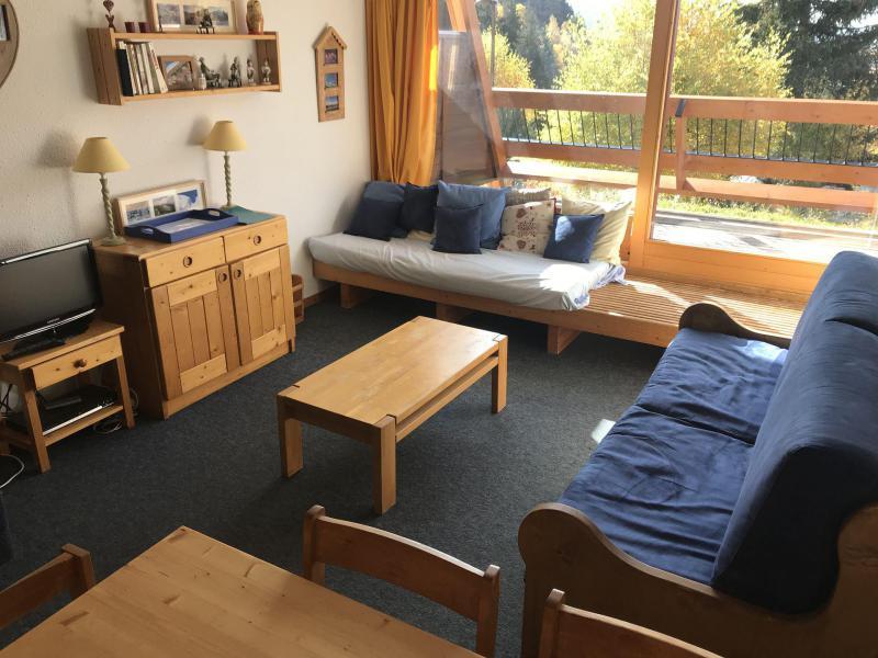 Vacances en montagne Appartement 2 pièces coin montagne 7 personnes (4152R) - Résidence Versant Sud - Les Arcs - Séjour